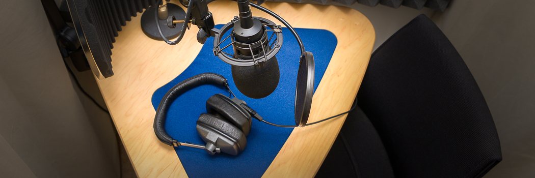 Voice over facilities for hire with engineer